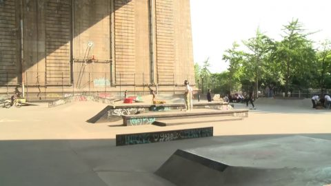 Network A Skate Cam: LIVE from Coleman Skatepark, LES, Manhattan - Network A