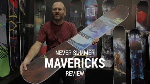 Never Summer Mavericks 2019 Snowboard Review - Tactics.com - Tactics Boardshop
