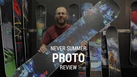 Never Summer Proto 2019 Snowboard Review - Tactics.com - Tactics Boardshop