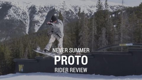 Never Summer Proto Type Two 2019 Snowboard Rider Review - Tactics.com - Tactics Boardshop