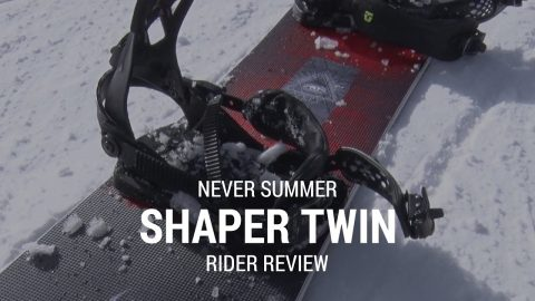 Never Summer Shaper Twin 2019 Snowboard Rider Review - Tactics.com - Tactics Boardshop