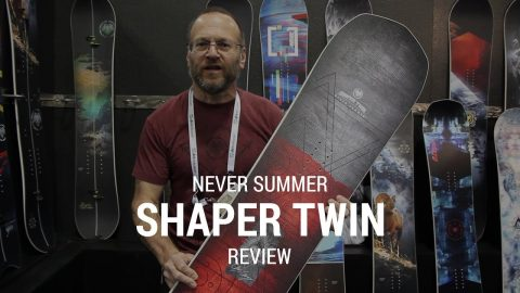 Never Summer Shaper Twin 2019 Snowboard Review - Tactics.com - Tactics Boardshop