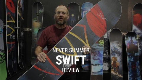 Never Summer Swift 2019 Snowboard Review - Tactics.com - Tactics Boardshop