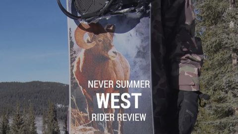 Never Summer West 2019 Snowboard Rider Review - Tactics.com - Tactics Boardshop