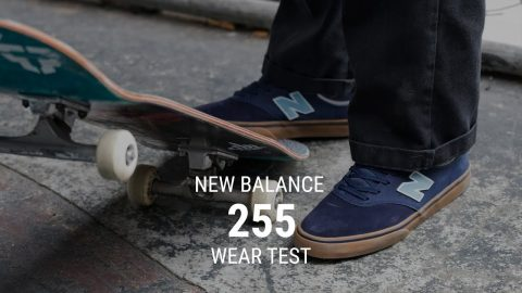 New Balance 255 Skate Shoes Wear Test Review - Tactics.com - Tactics Boardshop