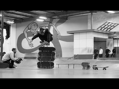 New Balance Numeric - High Ollie Challenge - The Berrics