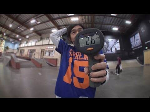 New Balance Numeric - Who Has The Fastest Kickflip? - The Berrics