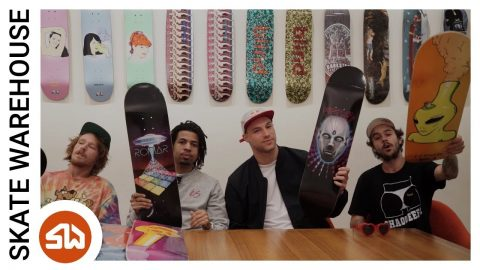 New Blind Decks ft. TJ Rogers and the Blind team - Skate Warehouse