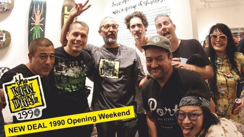 NEW DEAL 1990 Opening Weekend (Clean) | New Deal Skateboards