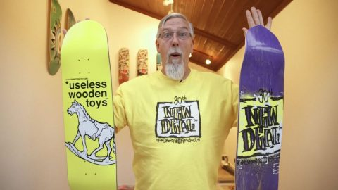 NEW DEAL 1990 Opening Weekend (Extended Tagged)   New Deal Skateboards