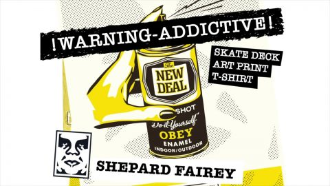 NEW DEAL x SHEPARD FAIREY Deck WIP Preview | New Deal Skateboards