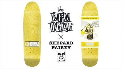 NEW DEAL x SHEPARD FAIREY Deck WIP Preview 720 | New Deal Skateboards