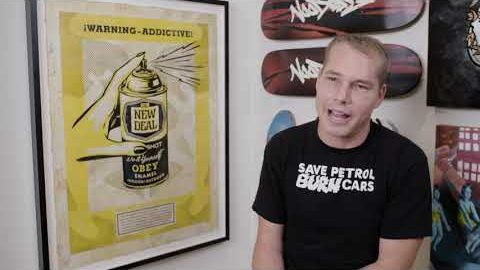 NEW DEAL x SHEPARD FAIREY Interview (Full Length) | New Deal Skateboards