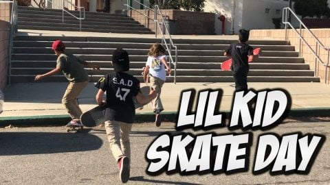 NEW LITTLE KID SKATEBOARDERS !!! - NKA VIDS - - Nka Vids Skateboarding