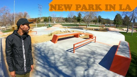 New Skatepark In LA?! | MannysWorld