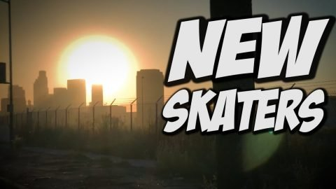 NEW SKATERS SKATE DAY !!! - NKA VIDS - - Nka Vids Skateboarding