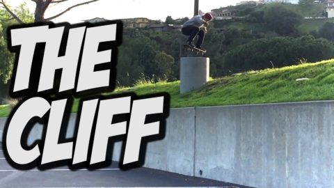 NEW TRICK ON THE CLIFF !!! - A DAY WITH NKA - - Nka Vids