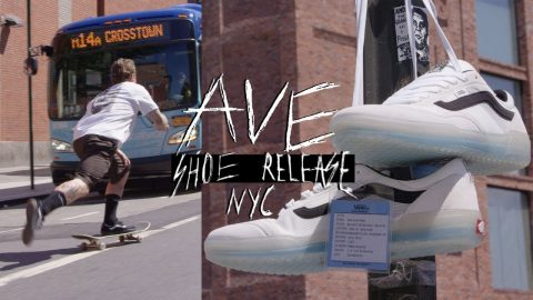 New York City with the Vans Team | AVE Shoe Release | The Berrics