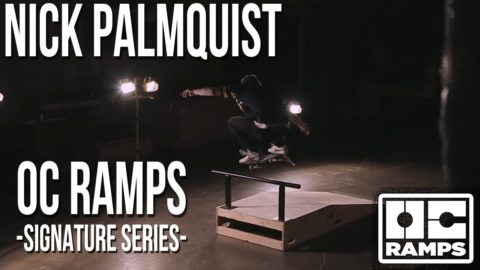 Nick Palmquist Bump Over Bar -- Signature Series Ramp - OC Ramps