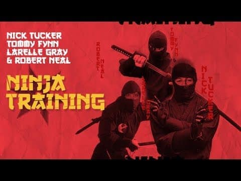 Nick Tucker, Larelle Gray, & Tommy Fynn - Ninja Training - The Berrics