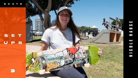 Nicole Hause First Place Winning Skate Gear | Dew Tour