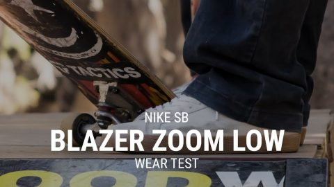 Nike SB Blazer Zoom Low Skate Shoe Wear Test Review - Tactics | Tactics Boardshop