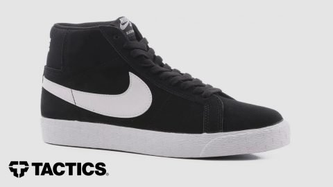 Nike SB Blazer Zoom Mid Skate Shoes Review - Tactics | Tactics Boardshop