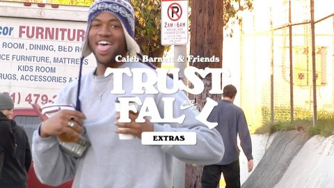 Nike SB | Caleb Barnett and Friends | Trust Fall Extras | nikeskateboarding