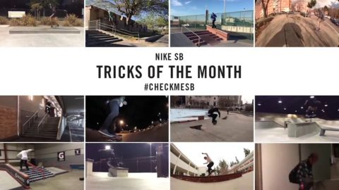Nike SB | #CheckMeSB | February Tricks of the Month - nikeskateboarding