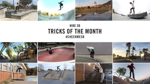 Nike SB | #CheckMeSB | Tricks of the Month: November - nikeskateboarding