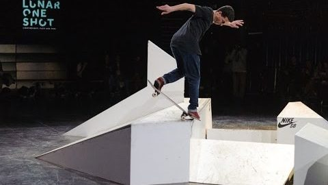 Nike sb Lunar One Shot Best trick Contest Paris 2014 with Damien Rubis et Benjamin Garcia - LeSiteDuSkateboard Videos