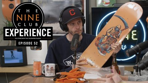 Nine Club EXPERIENCE #52 - Nyjah's Gnarliest Slams, Girl Skateboards, David Gravette | The Nine Club