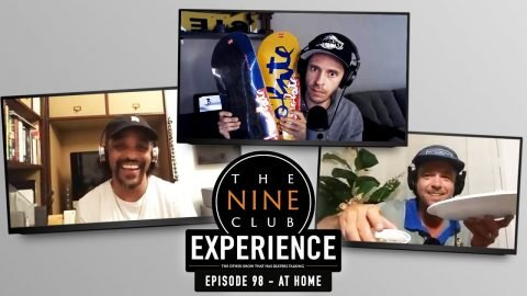 Nine Club EXPERIENCE #98 (At Home) - Tyson Bowerbank, Tony Hawk on Joe Rogan, Javier Sarmiento | The Nine Club
