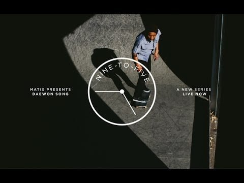 NINE-TO-FIVE: DAEWON SONG - Matix Clothing