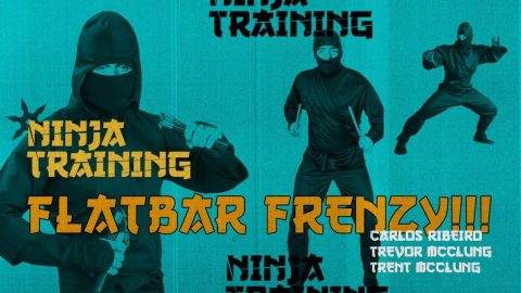 Ninja Training On The Flatbar - with Carlos Ribeiro, Trevor McClung, & Trent McClung - The Berrics