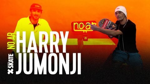 NO AR #89 - HARRY JUMONJI | CemporcentoSKATE
