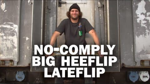 No-Comply Big Heeflip Late-Flip: Beanie || ShortSided - Brett Novak