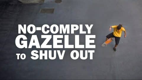No-Comply Gazelle to Shuv Out: Mauricio Nava || ShortSided - Brett Novak