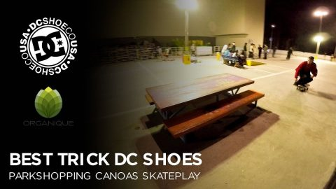 No Rolê com Carolino - Best Trick DC Shoes Canoas | Alex Carolino