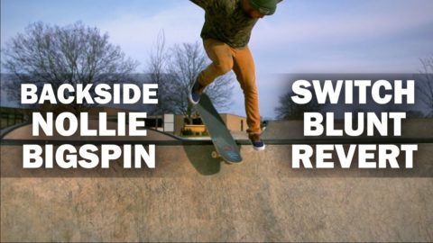 Nollie Bigspin Switch Blunt Revert: Calvin Krieg || ShortSided - Brett Novak