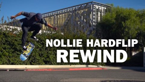 Nollie Hardflip Rewind: Tim Pool || ShortSided - Brett Novak