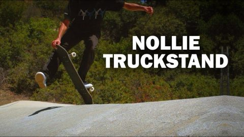 Nollie to Truckstand: Rene Shigueto || ShortSided - Brett Novak