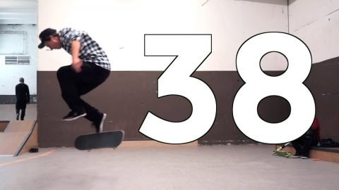 NOLLIE VARIAL HEELFLIP UNDERFLIP | RECAP ROUND 38 | Global Game of Skate