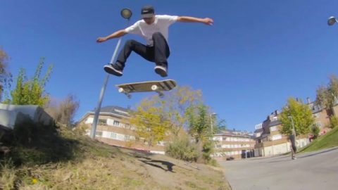 NOMAD SKATEBOARDS - INTRODUCING SEBAS GARCIA - Nomadskateboards