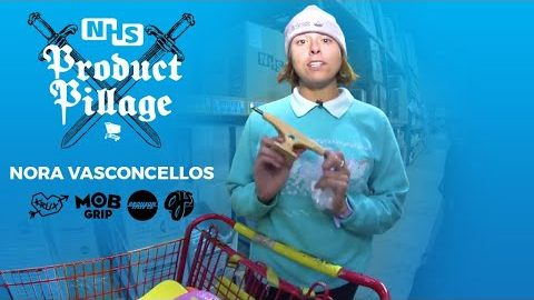 Nora Vasconcellos Donates ENTIRE Product Pillage To WHO?! | KRUX TRUCKS | Krux Trucks