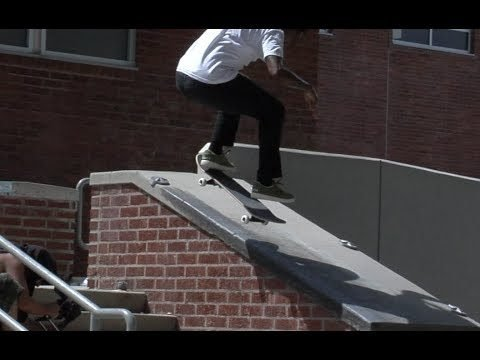 Norman Woods Kickflip fs Nose Grind Raw Cut - E. Clavel