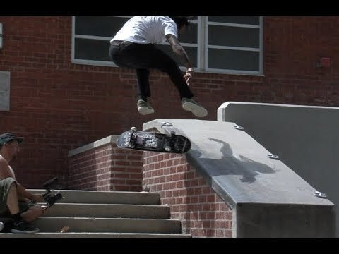 Norman Woods Kickflip Fs Nose Slide Raw Uncut - E. Clavel