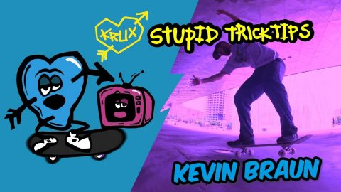 Nose Wheelie Master- Stupid Trick Tips with Kevin Braun | Krux Trucks
