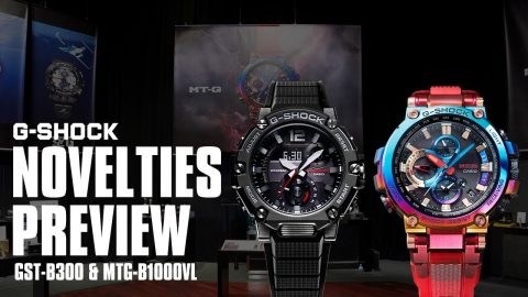 Novelties Preview: G-STEEL GST-B300 & MTG-B1000VL | gshockeu
