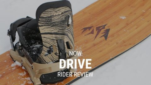 NOW Drive 2019 Snowboard Binding Rider Review - Tactics.com - Tactics Boardshop